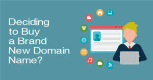 Decide To Purchase A Brand New Domain Name