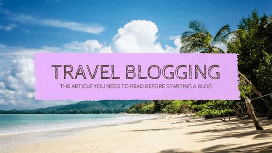 5 Quick Tips for the WORDPRESS Travel Blog